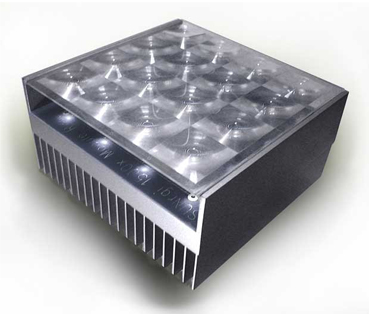 Solar Cell with Heat Sink